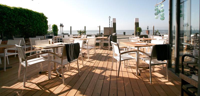 Diner trouwen op vlieland for Lay outs terras van het restaurant